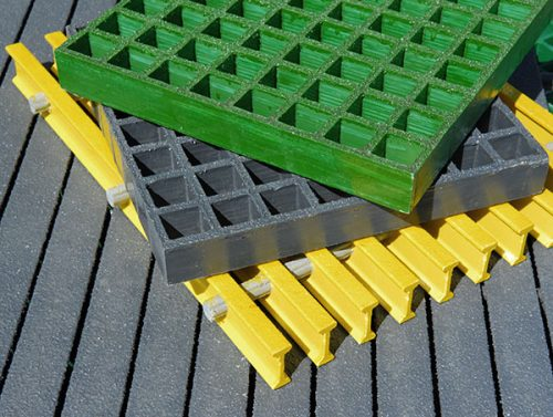 Molded Grating, Pultruded Grating in Isophthalic and Vinyl Ester Resins